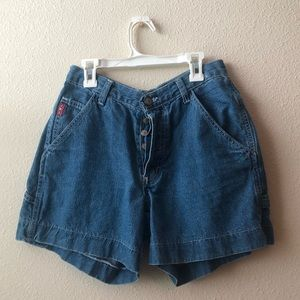 Lee Mom Jean Style Shorts